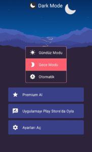 telefona karnalık mod yapma - karanlık mod uygulaması