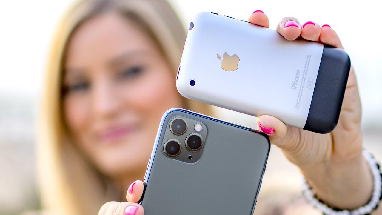 İlk İphone Modelinin Günümüzde Kulağa Şaka Gibi Gelen 7 Özelliği
