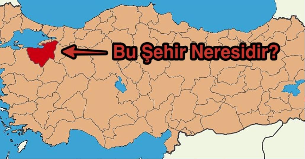 Türkiye'nin Şehirleri Hakkında Hazırlanan 12 Soruluk Testi Geçebilicekmisin ?