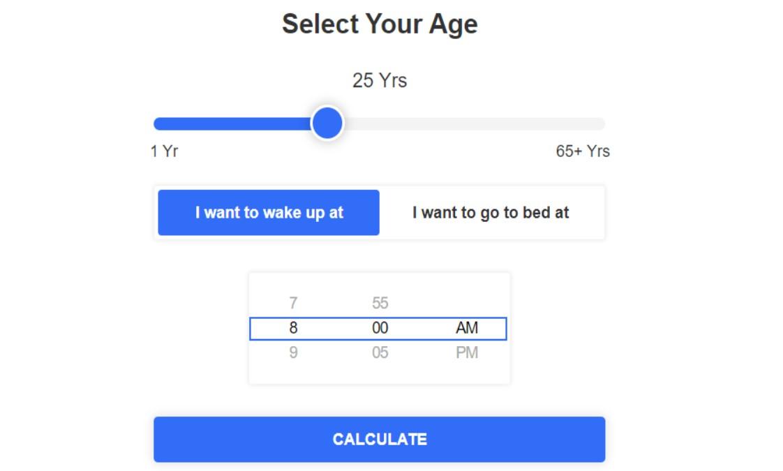 Uyanmanız İçin Uyumanız Gereken Saati Söyleyen Site